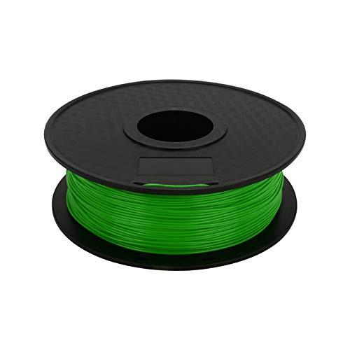 Trintion Filament PLA 1,75mm Hochfestes 3D-Druckerfilament 1kg Spool 3D Drucker Zubehör (Transparent Grün)