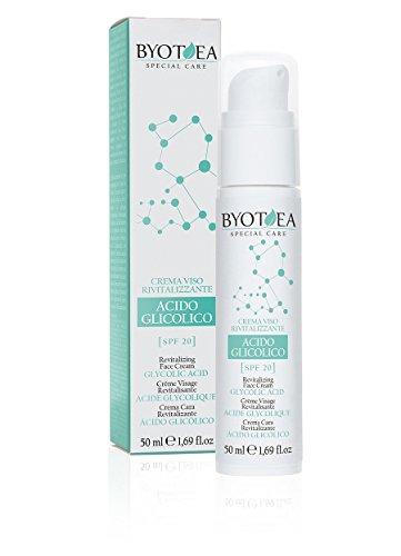 BYOTHEA Beauté et cosmétiques Revitaliser acide Crème Visage 50 Ml Glycolique