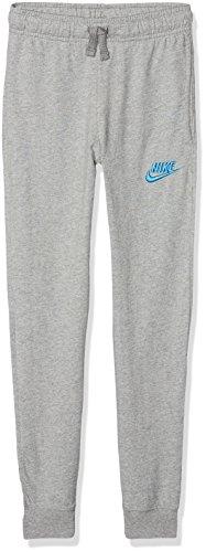 Nike Jungen Sportswear Jogginghose, Dark Grey Heather/Equator Blue, M