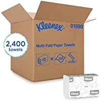 2400-Count Kleenex 01890 Multi-Fold Paper Towels