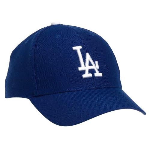 e8bc6ea196d Amazon.com   Los Angeles Dodgers MVP Adjustable Cap (Blue)   Sports Fan  Baseball Caps   Clothing