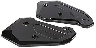 Vaorwne pour MT-07 MT07 FZ07 MT 07 2013-2017 Moto Accessoires en Fiber de Carbone Repose-Pieds Garde Couverture Protecteur