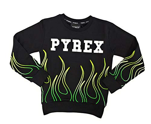 Pyrex Kids Bambino 026425 Nero Felpa Inverno 8 Anni