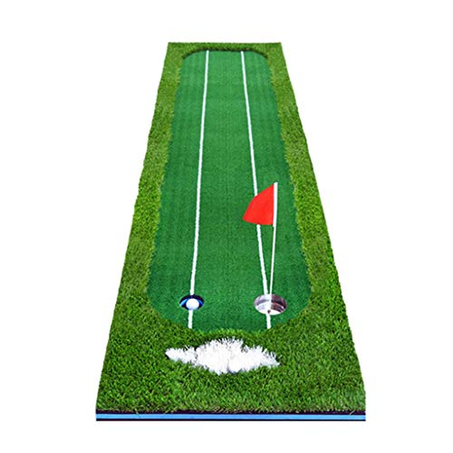Fantastic Deal! FGSJEJ Golf Practice mats, Home Golf Pads, Putter Exercises, Office Home Putting Gre...
