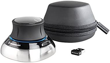 3Dconnexion 3DX-700066 Spacemouse Wireless (With Carry Case And Universal Receiver)