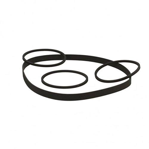 Thakker 581 Riemen-Set kompatibel mit Nakamichi 581 Riemen-Set Kassettendeck Belt