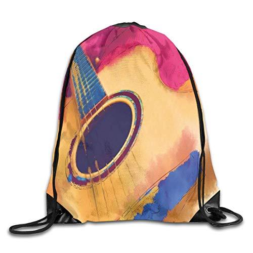 1Zlr2a0IG Drawstring Backpack Art Design Print Rucksack Shoulder Bags Gym Bag Cool Nerver Forget 911...