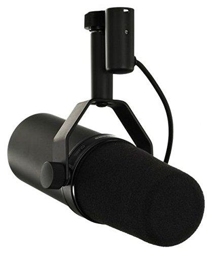 Shure SM7B - Micrófono dinámico profesional para retransmisiones y estudios, ideal para hablar y cantar