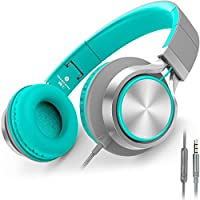 Headphones,Ailihen C8 Lightweight Foldable Headphones with Microphone for iPhone,iPad,iPod,Android...