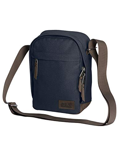 Jack Wolfskin HEATHROW praktische Schultertasche, Night Blue, ONE SIZE