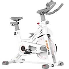 【Upgraded Exercise Bike】Referring to other exercise bikes on the market and continuous improvement and upgrading, pooboo designed this exercise bike, which has a stylish appearance, extra wide seat cushion and heavier flywheel 35lbs. The thickened st...