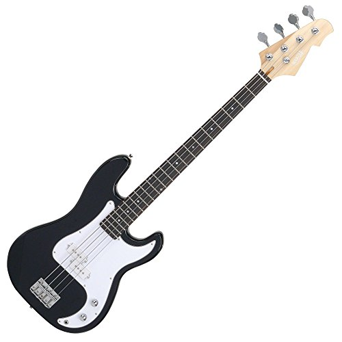 Rocktile Punsher Preci Style - Basso elettrico con pick-up splittato, 22 tasti, tastiera in effetto palissandro