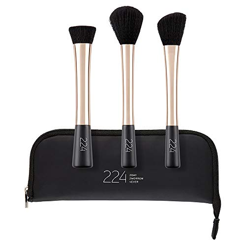 224 Contouring-Make-up-Pinselset, 3 Stk.