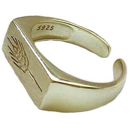 Helen de Lete 925 Sterling Silber Weizen Pflanzen Offene Ring