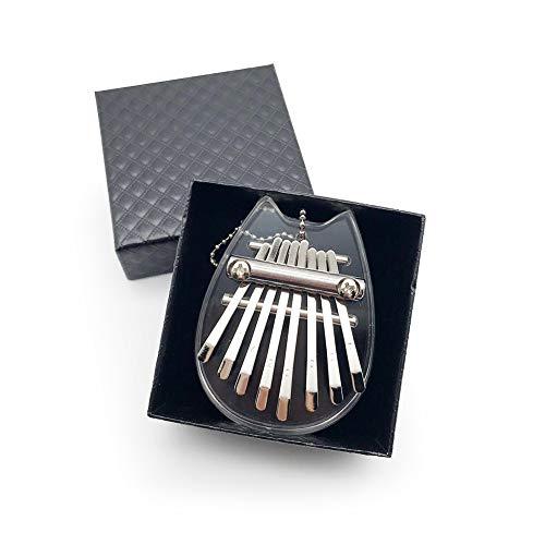 Vegena Kalimba 8 Tasti Finger Piano Professionale Mini Kalimba Thumb Piano Marimba Portatile Strumento Musicale,Kalimba Thumb Piano per Principianti Bambini Adulti