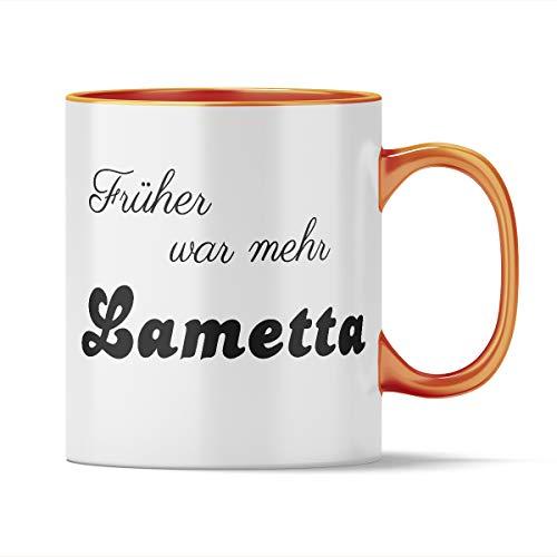 Nukular Tasse Früher war mehr Lametta Toller Becher für Weihnachtsfans