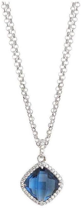 Boccadamo, collana per donna ,in bronzo rodiato con pendente Xgr429B
