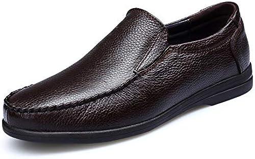schuhe House Leder Herren Fahren Schuhe Rutschfeste Leichte Stiefelschuhe