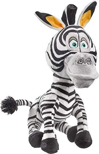 Schmidt Spiele 42708 DreamWorks Madagascar, Marty, Plüschfigur Zebra, 25 cm, bunt