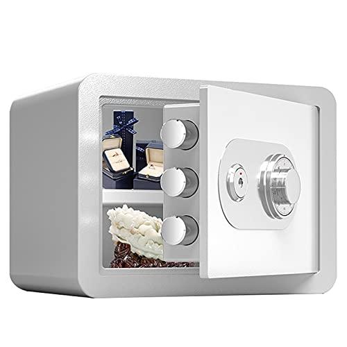 Cajas Fuertes Cajas Fuertes De Contraseña Mecánica, 25 Cm con Mini Mini Cogados De Alojamiento Invisibles Cajas Fuertes, Oficina All-Steel Robo Protección Joyería Familia Caja De Seguridad