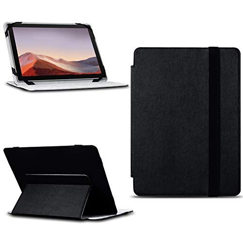 NAUC Tablet Tasche für Dell Venue 11 Pro Hülle Schwarz Cover Schutzhülle Schutz Hülle