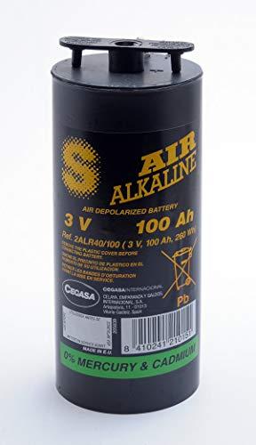 Cegasa - Batterie Luftsauerstoff Alkaline 2ALR40/100 3V 100Ah