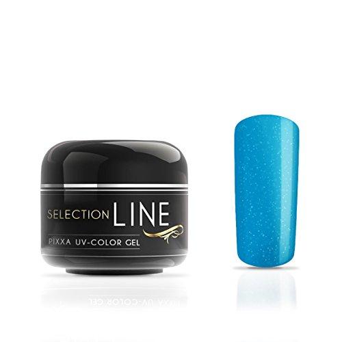 Gel couleur Selection Line Pixxa Bahama Holidays Blue 5 ml-Gel de couleur haut de gamme pour les ongles extravagant design Nail