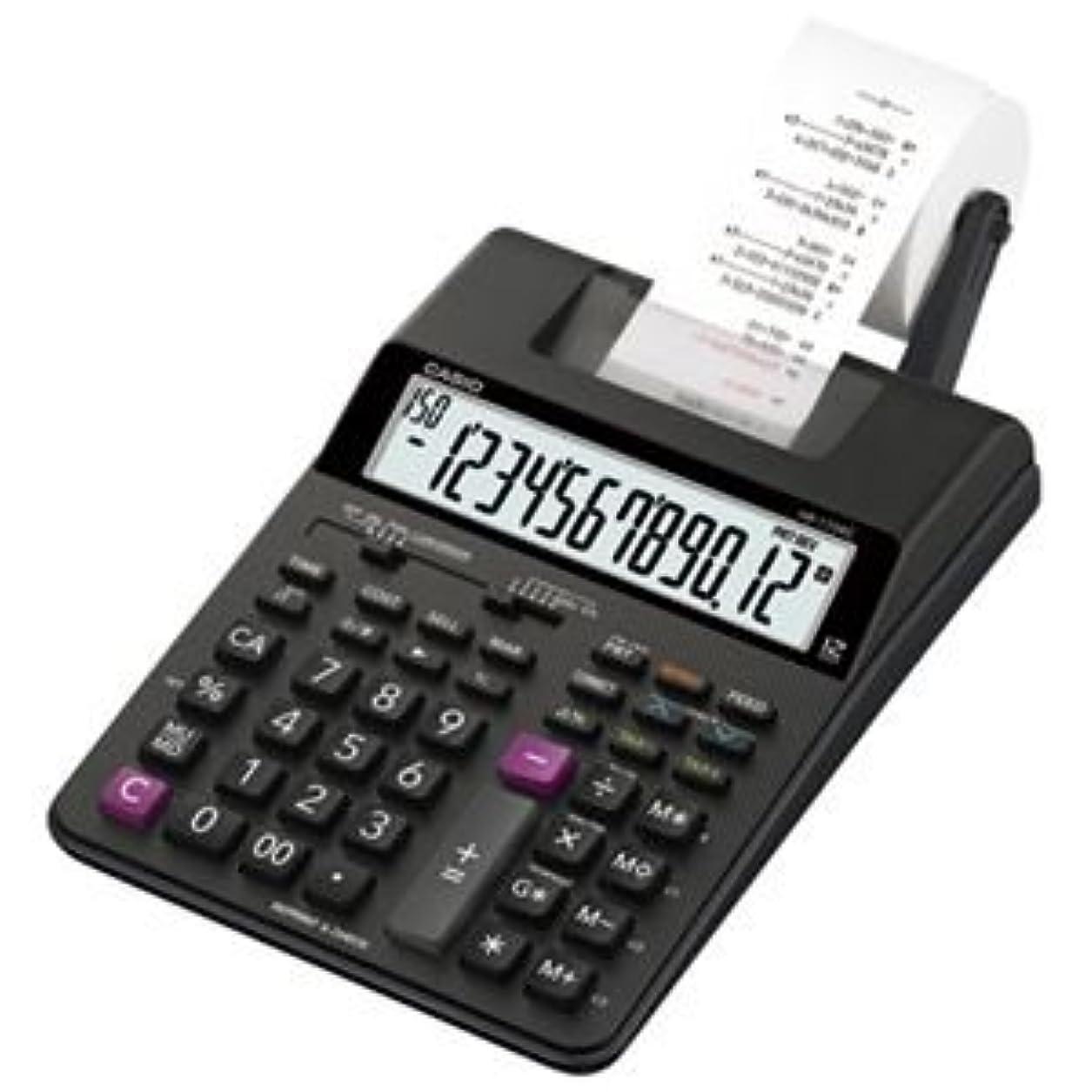 かもめドレイン却下するカシオ計算機 プリンター電卓HR-170RC-BK