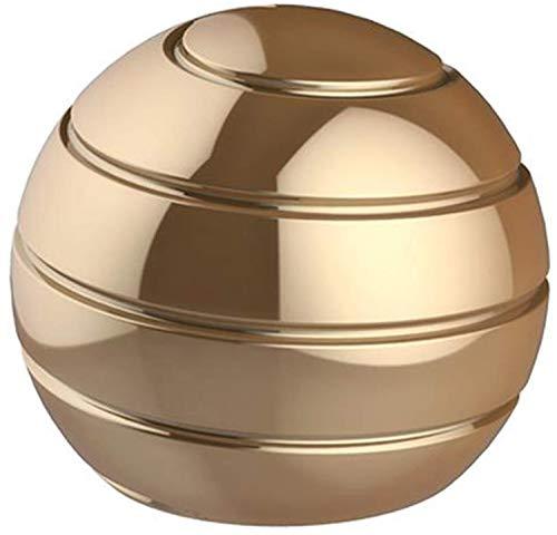 CaLeQi Desktop Ball Transfer Gyro Aluminum Alloy Kinetic Desk Toy Stress Relief Office Executive...