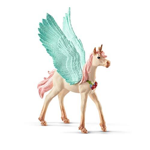Schleich 70575 bayala Spielfigur - Schmuckeinhorn-Pegasus, Spielzeug ab 5 Jahren