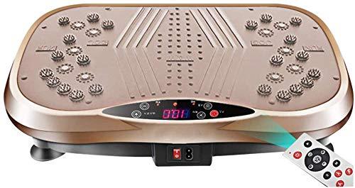 Máquina de entrenamiento de cuerpo completo de alta frecuencia con masaje magnético + 3 zonas vibratorias + bajo ruido para pérdida de peso/modelado dorado S