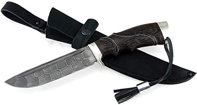 Sedov Russian Knife Damascus XB5 D5 ELMAX Diamond Steel Tactical Hunting Type №7