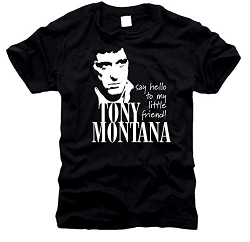 shirtstore Scarface Tony Montana-t-Shirt-Homme-Taille XL