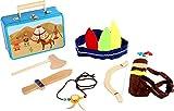 small foot 3922 Kinderkoffer Indianer-Set, mit Axt, Messer, Pfeil, Bogen, Kopfbedeckung und...