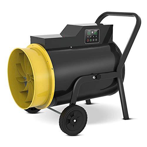 Calentador Ventilador 15kw Calentador Espacio Eléctrico 380v Calentadores Industriales Nivel Ipx4 Impermeable Adecuado para Granjas Garaje Fábrica Sótano Almacén y Exterior