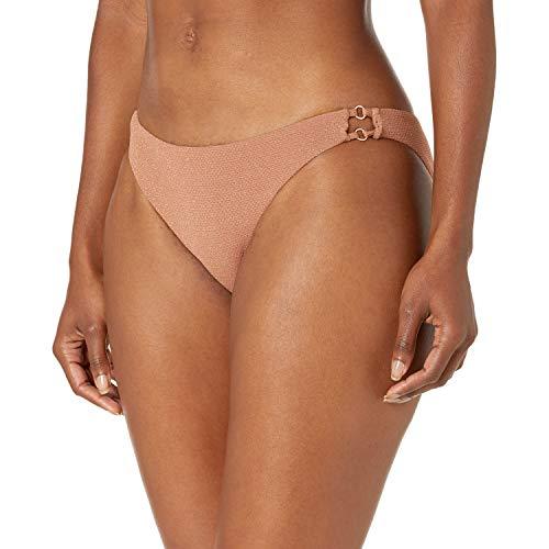 Seafolly Damen Stardust Cheeky Hipster Bikinihose, Braun (Bronze Bronze), 36 (Herstellergröße: 10)