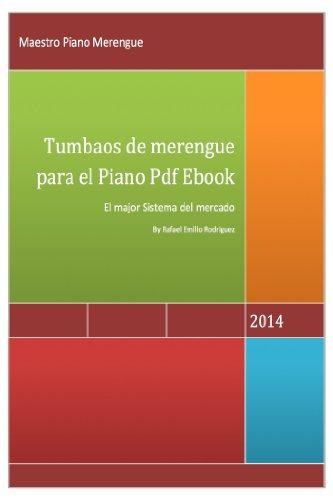 Tumbaos de merengue para el piano (Spanish Edition)