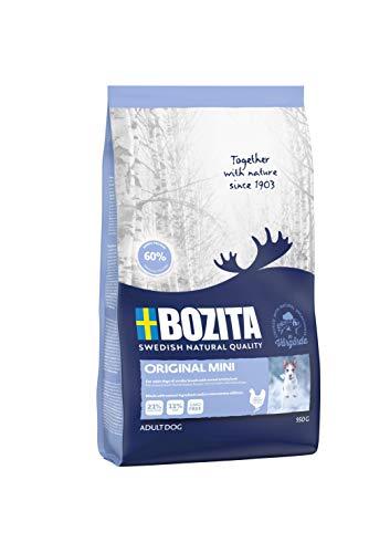 BOZITA Original Mini Hundefutter - 0.95 kg - nachhaltig produziertes Trockenfutter für erwachsene Hunde kleiner Rassen - Alleinfuttermittel
