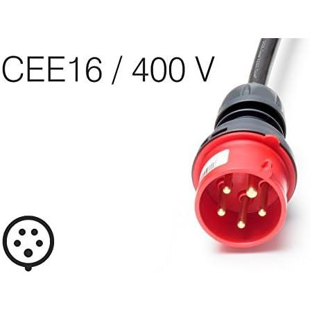 Juice Connector Elektro Fahrzeug Ladekabel Stecker Cee16 400v 16a Für Juice Booster 2 Tragbares Ladegerät Auto