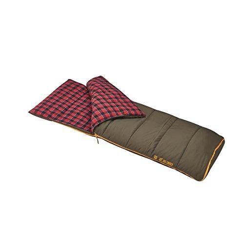 Slumberjack Big Timber Pro 20 Degree Sleeping Bag, Brown