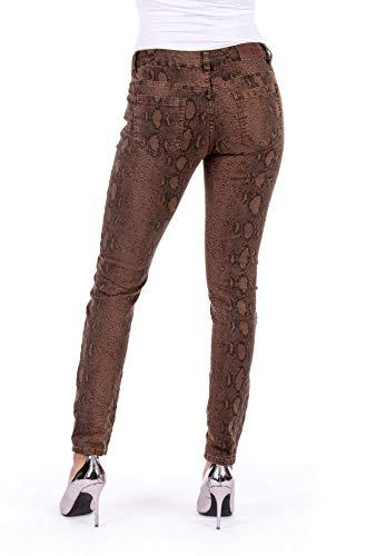 Länge 32 Blue Monkey Ruby 10308 Skinny Jeans Damen