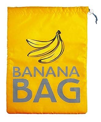 "KitchenCraft Stay-Fresh Banana Preserving Storage Bag, 38 x 28 cm (15"" x 11"") - Yellow by Kitchen Craft"