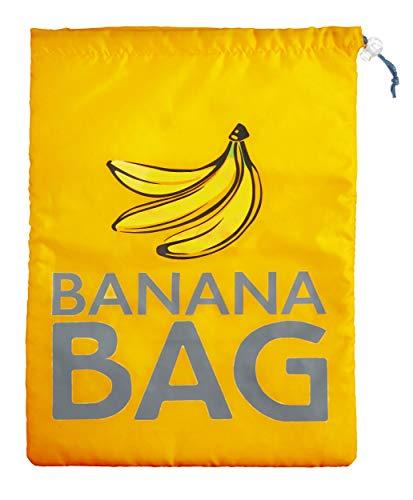 KitchenCraft Bananenbeutel, Polyester, Gelb, 38 x 28 cm