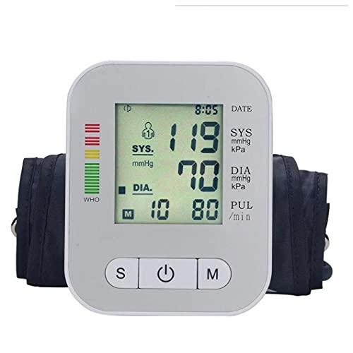 Naisicatar Dispositivo automático del probador de presión Arterial Dispositivo Máquina de la máquina de la Parte Superior Digital de la Pantalla.