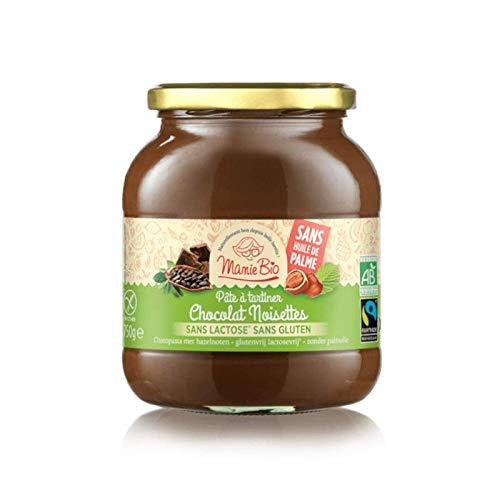 Mamie Bio Pâte à Tartiner Chocolat Noisettes Sans Gluten Sans Lactose 750g