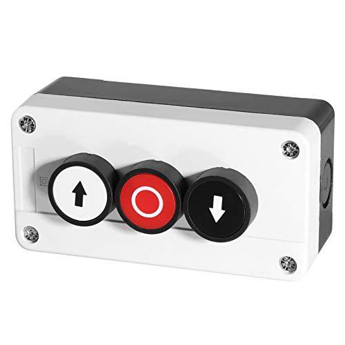 Aufbaugehäuse inkl Taster in 2-fach EIN/AUS oder 3-fach AUF/AB/STOP auswählbar (3-Fach AUF/AB/STOP)