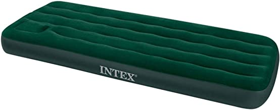 Intex 66950 Inflatable Downy Air Mattress - Green, Twin Size