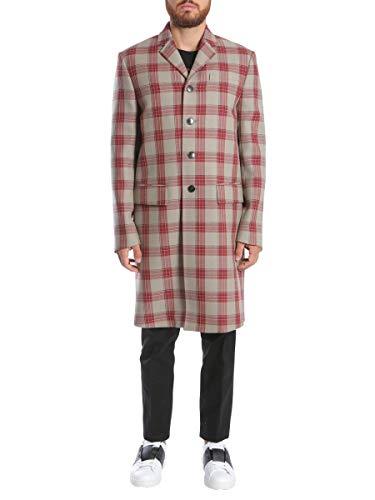 Valentino Luxury Fashion Herren NV0CA4664NPQ64 Beige Wolle Mantel   Jahreszeit Outlet