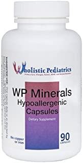Kirkman WP Minerals || 90 Vegetarian Capsules || A Comprehensive mineral supplement for those who do not get enough nutrients from their diet.
