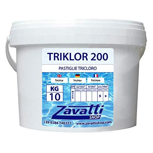 Zavattishop Tri Cloro tabletas para Piscina - 10 Kg tricloro